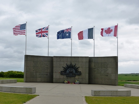 The battle Memorial Hill 104
