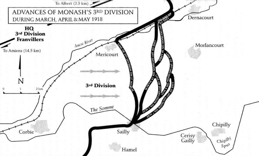 Miniature Battles 3 Div May 1918