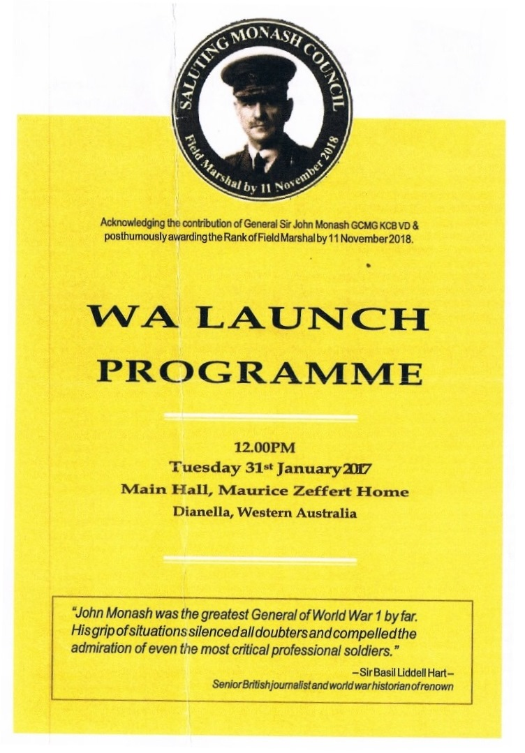 WA Launch Program